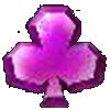 simbol keriting ungu pada Permainan Bonanza Gold